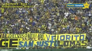 Banfield 0 - Boca 2 /Primera División 2016/17