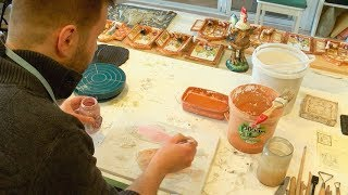 видео «Хотьковская керамика» в Абрамцеве
