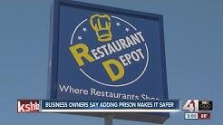 Suspect shot during Restaurant Depot robbery attempt