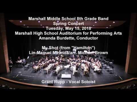 My Shot - Miranda/arr. Brown - MMS 8th Grade Band