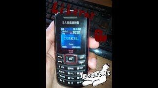 Cómo liberar ó desbloquear el Samsung Gt e1086i (2 métodos)