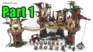LEGO Star Wars Ewok Village 10236 set Review: Part 1 - minifigs!