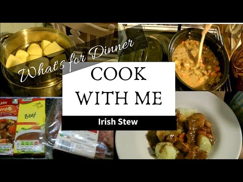 Cook with me | Whats for dinner | Irish stew | Taylor made mom