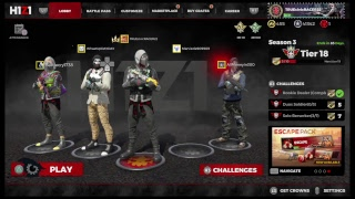 H1Z1 live PS4 gameplay season 3