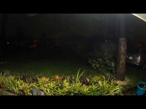 Hurricane Matthew Jensen beach Florida 10/6/2016 7:49 pm EST