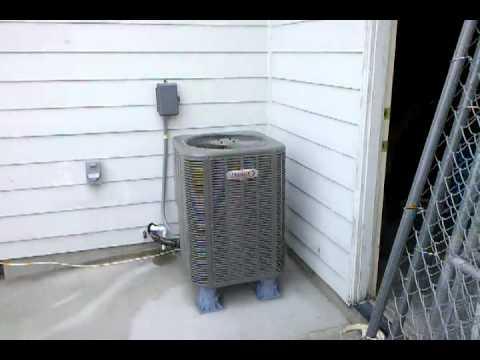 2.5 Ton Heat Pump >> Lennox Merit 14HPX 2.5 Ton Single Stage Heat Pump - YouTube