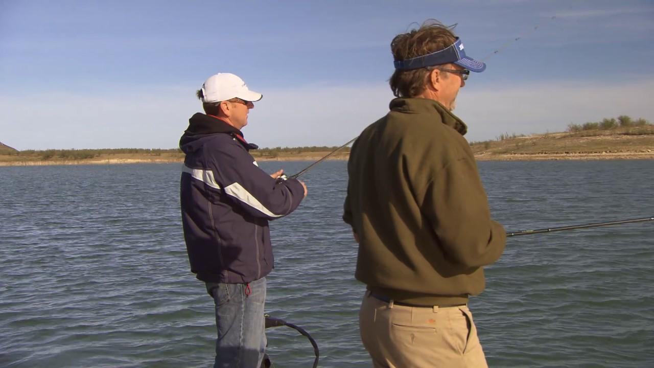 Wade Fishing Ray Hanselman On Lake Amistad Youtube