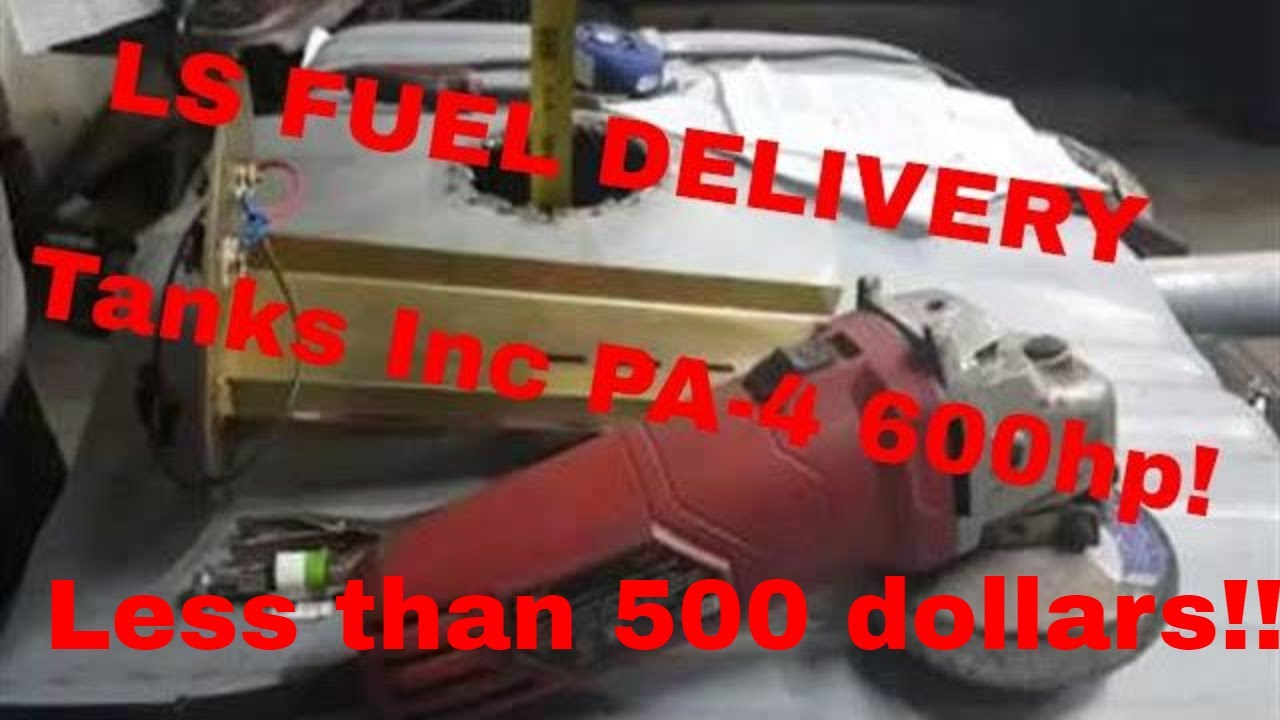 LS Fuel Delivery SYSTEM Tanks Inc Fuel Pump PA-4 and Sending Unit'  'DARKNESS LS SWAP PART 7