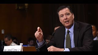 Fired FBI director James Comey testifies before the Senate Intelligence Committee