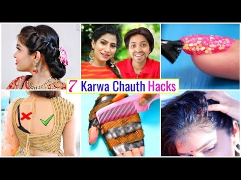 7 OSM KARWA CHAUTH Life Hacks You Must Know | #HairStyle #Fashion #Beauty #HairCare #Anaysa720p