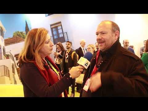 Entrevista al alcalde de Benamargosa, José Gallego, en Fitur 2019
