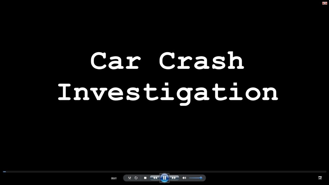 Physics Of A Car Crash Investigation