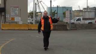 Harassed for taking pictures at Port of Tacoma, Washington - 30 MAY 2013