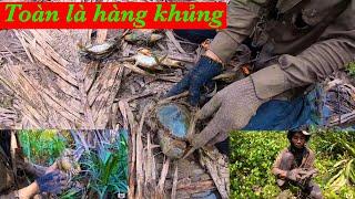Cua Biển Khủng Lồ Xuất Hiện Phần 2   Thợ Săn Cua Biển Tập 21   Catch King Crab Sea # 21