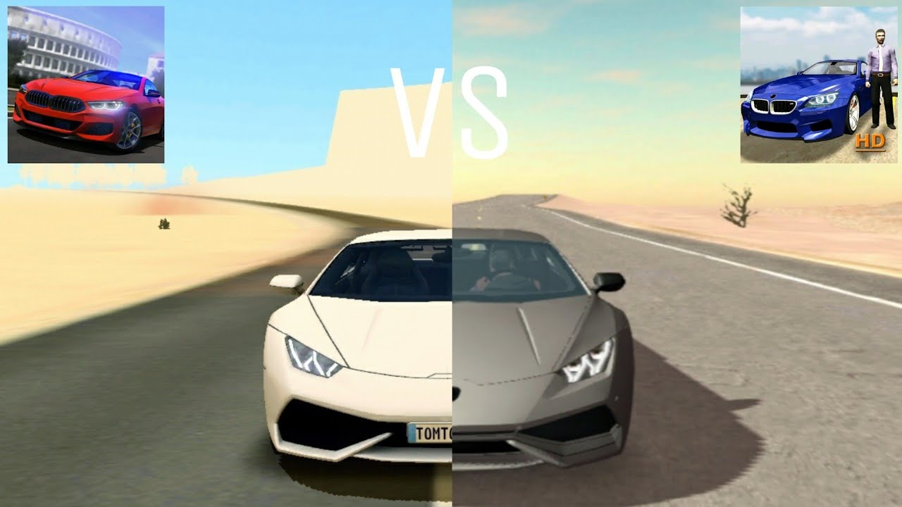 Driving School Sim VS Car Parking Multiplayer