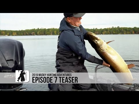 Musky Fishing Small Wisconsin Rivers - Episode 7 Teaser