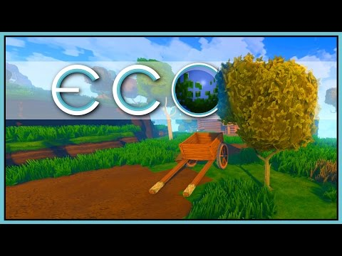 GRAND THEFT ECO - Unlimited Wood [Let's Play Eco Game / Eco Gameplay]