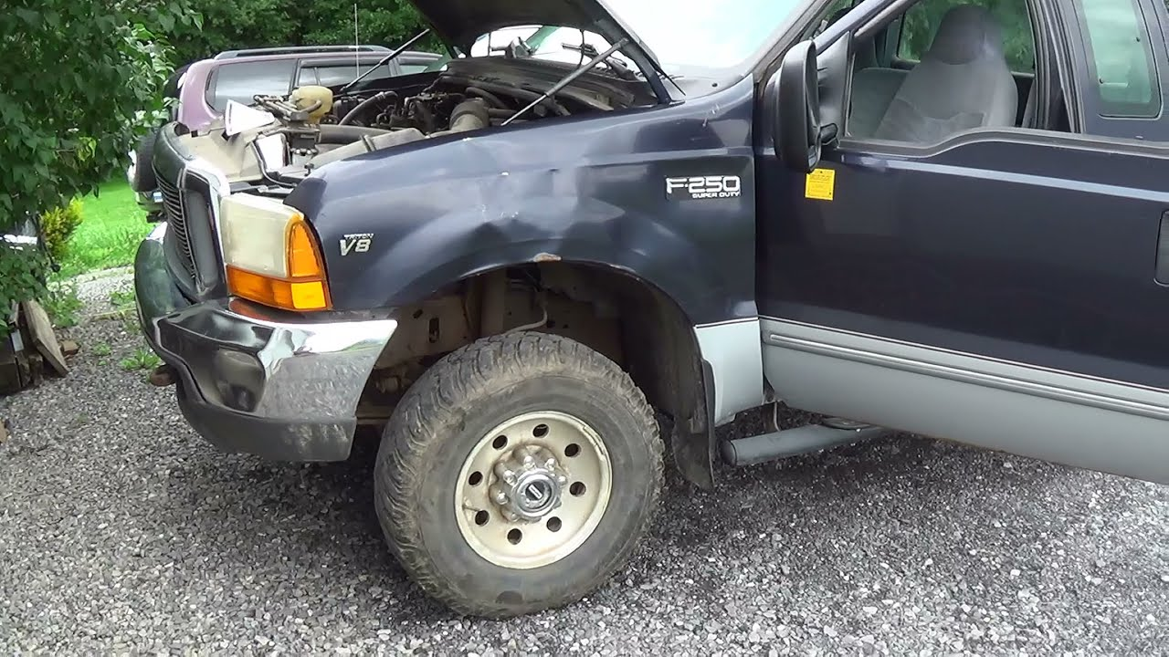 99 Ford F250 54l Surging Rough Idle Case Study Part 1 Youtube 1989 150 Running Lights Wiring Diagram