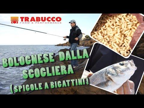 Trabucco TV - Canna bolognese dalla scogliera