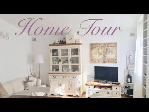 HOME TOUR (parte 1) - soggiorno shabby chic - YouTube