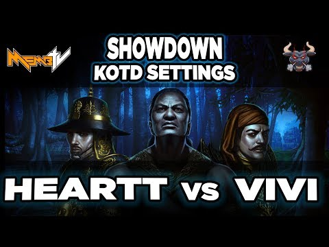 Showdown Hearttt vs ViVi Best of 7   Paladin sponsor