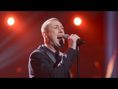 Christopher Maloney sings Total Ese Of The Heart  Live Week 7  The X Factor UK 2012