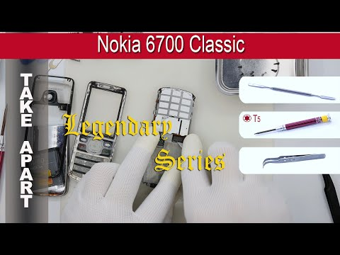𝕃𝕊 How to disassemble 📱 Nokia 6700 Classic Take apart Tutorial