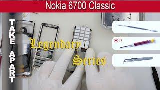 𝕃𝕊  How to disassemble 📱 Nokia 6700 Classic Take apart Tutorial