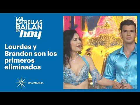 ¡Lourdes y Brandon quedan eliminados de la competencia! | #LasEstrellasBailanEnHoy | Las Estrellas