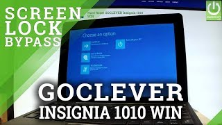 hard Reset GOCLEVER Insignia 1010 WIN - Remove Password in Windows