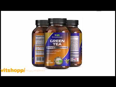 Weight Loss Supplement with Green Tea + EGCg With Polyphenols and Antioxidants – Boosts