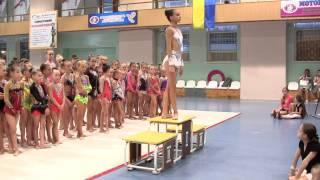 Награждение гимнасток 2000 - 2003 г.р.