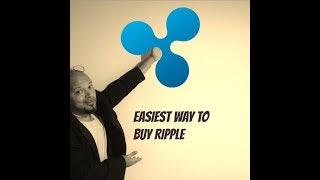 Easiest Way to buy XRP Ripple