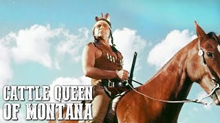 Cattle Queen of Montana | Old Cowboy Movie | WESTERN | Action | Full Length Movie