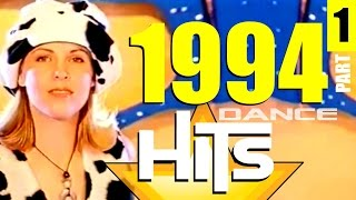 BEST DANCE HITS 1994【VIDEOMIX】by DJ Crayfish 【100x EURODANCE】