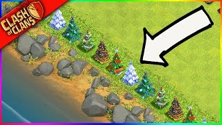 THE MOST PERFECT WALL OF CLASH TREES.... EVER 🎄