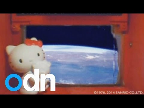 Hello Kitty in orbit: Japan sends toy into space