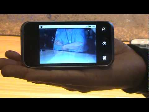 Motorola Backflip Video Demo