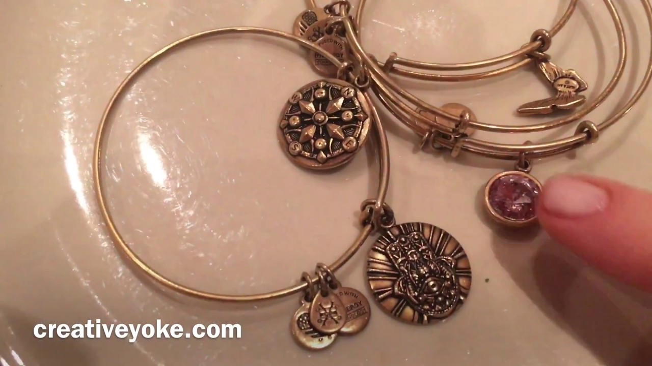 How To Clean Alex And Ani Jewellery Youtube