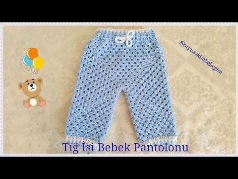 Kolay Bebek Pantolonu Yapımı (Baştan Sona Anlatımlı)