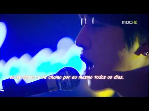 Heartstrings - Lee Shin Cantando Because I miss you (legendado: port/BR)