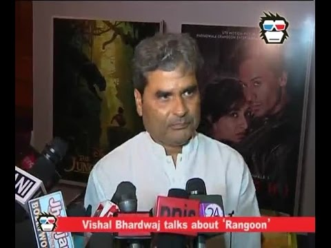 WATCH: Vishal Bhardwaj opens up on 'Rangoon'; wrapped shooting of 'Rangoon'