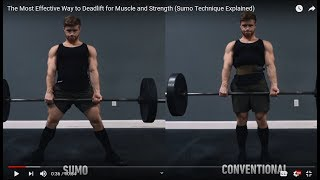 Re: Jeff Nippard - The Most Effective Way to Deadlift for Muscle and Strength