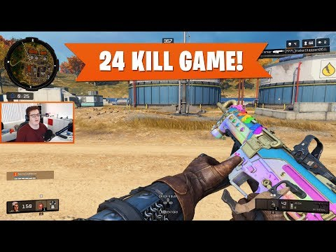 24 KILL GAME! | Black Ops 4 Blackout | PS4 Pro