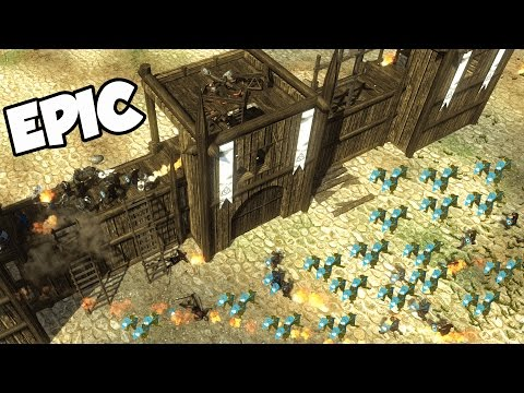 EPIC Castle Siege!  A NEW Kingdom (Veil of Crows Gameplay - Mount and Blade + Sandbox RTS)