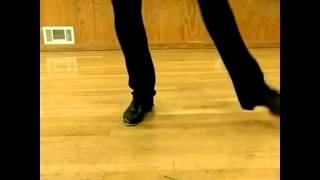 Уроки степа / чечетки. 6-кратный быстрый повтор Scissor Steps & Moves