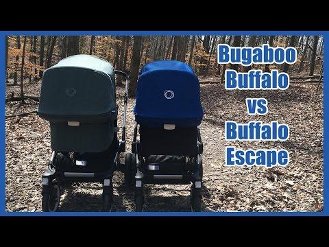 BG Review: Bugaboo Buffalo vs Buffalo Escape Stroller Comparison