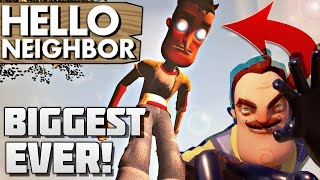 Hello Neighbor - Alpha 2 Story Gameplay Trailer-5EbzRv7l698