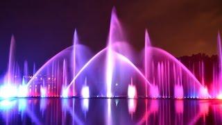 Музыкальный фонтан в Виннице 2015 | Рошен(Музыкальный, танцующий фонтан