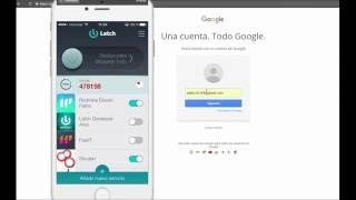 Proteger tu cuenta de Google y Gmail con Latch Cloud TOTP